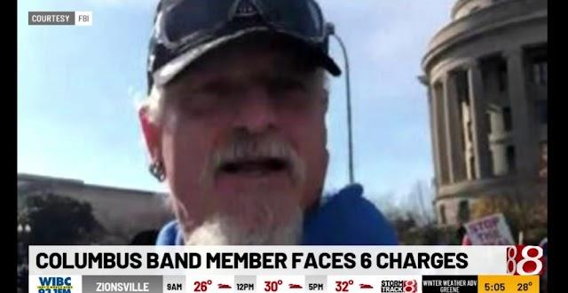 Detenção de Jon Schaffer foi noticiada em estações televisivas norte-americanas (Vídeos disponíveis)
