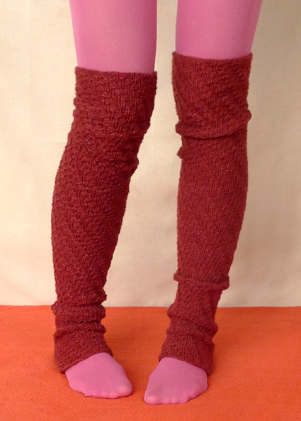 Knitting Leg Warmers Pattern : Miss Julias Patterns: Free Patterns - 25 Luscious Leg Warmers to Knit &a...