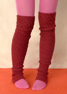 Julia ann and leg warmers