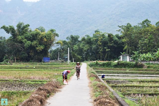 Gente local en Mai Chau, Vietnam