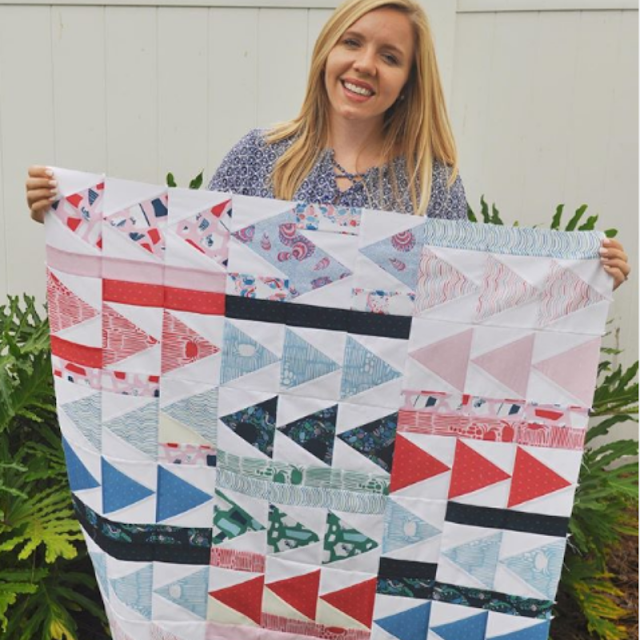 Flight Plan Quilt #babyquilt