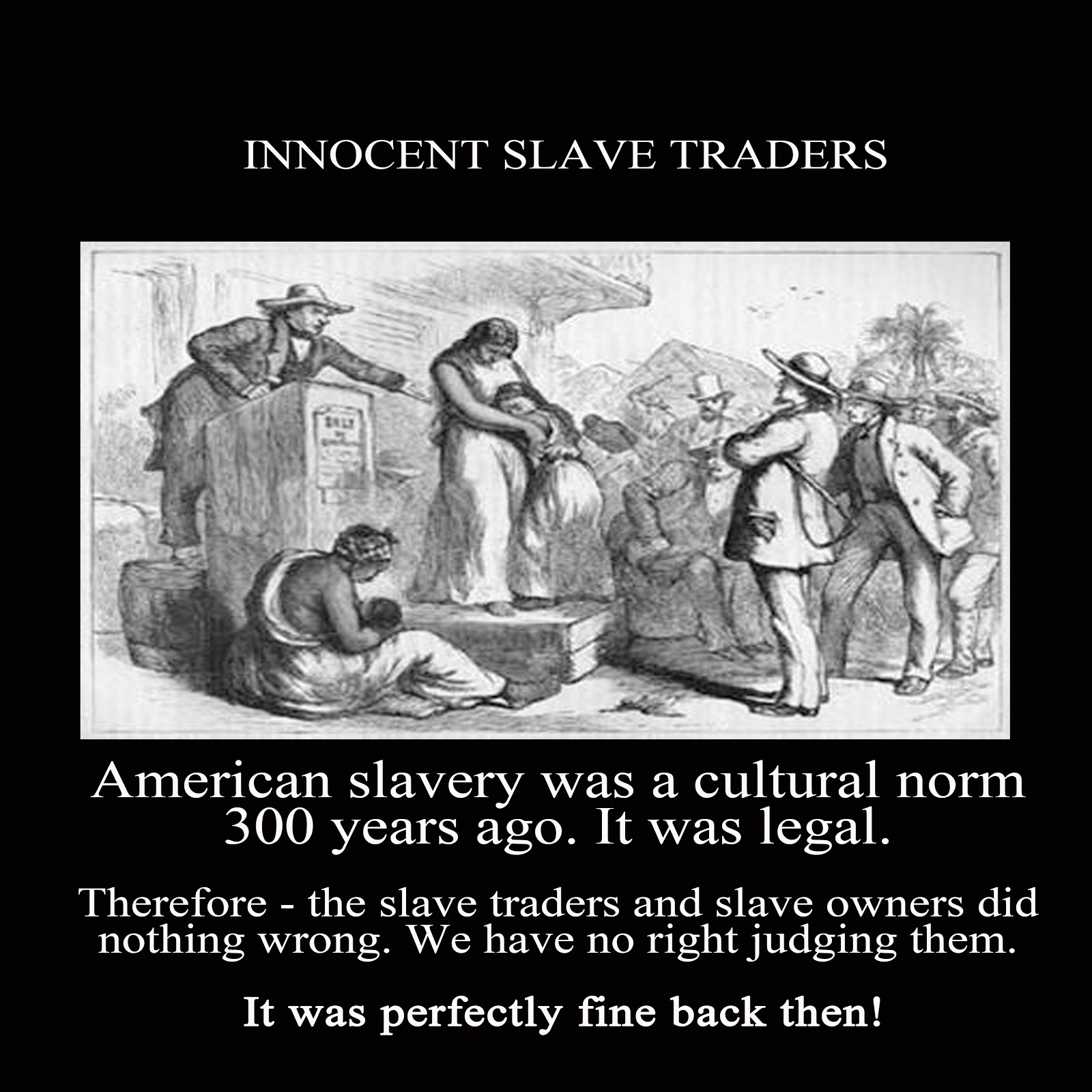 Slavery experiences and perspectives