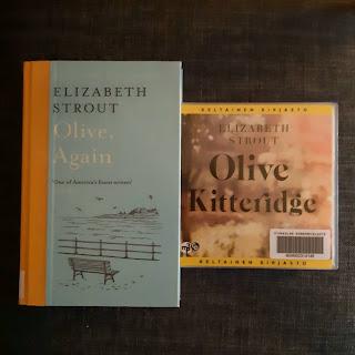 Kansikuvat kirjoista Olive Kitteridge ja Olive, Again