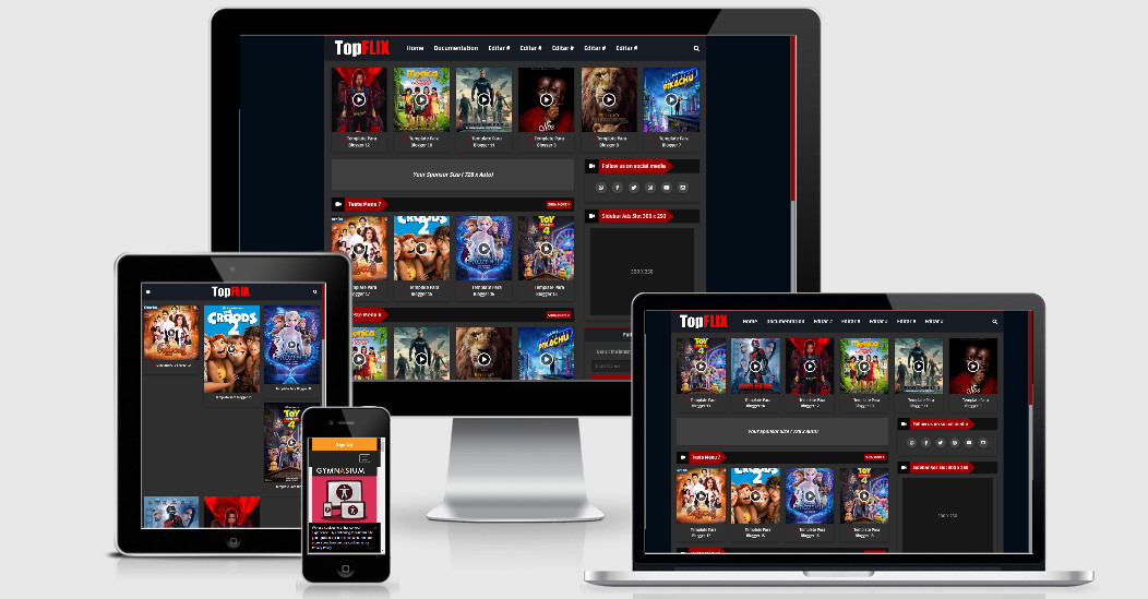 TopFlix افضل قالب بلوجر لعرض افلام 2020