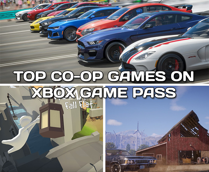 Top Co-op Games on Xbox Game Pass
