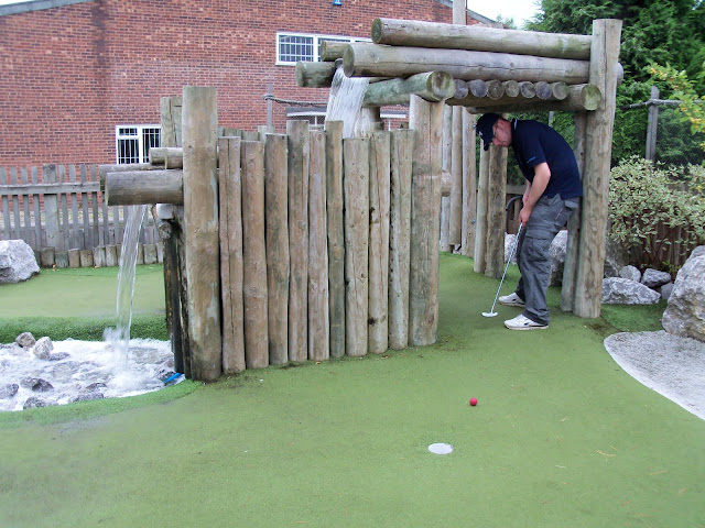 Crazy Golf at MFA Bowl in Hereford