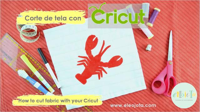 tutorial cortar tela Cricut Maker