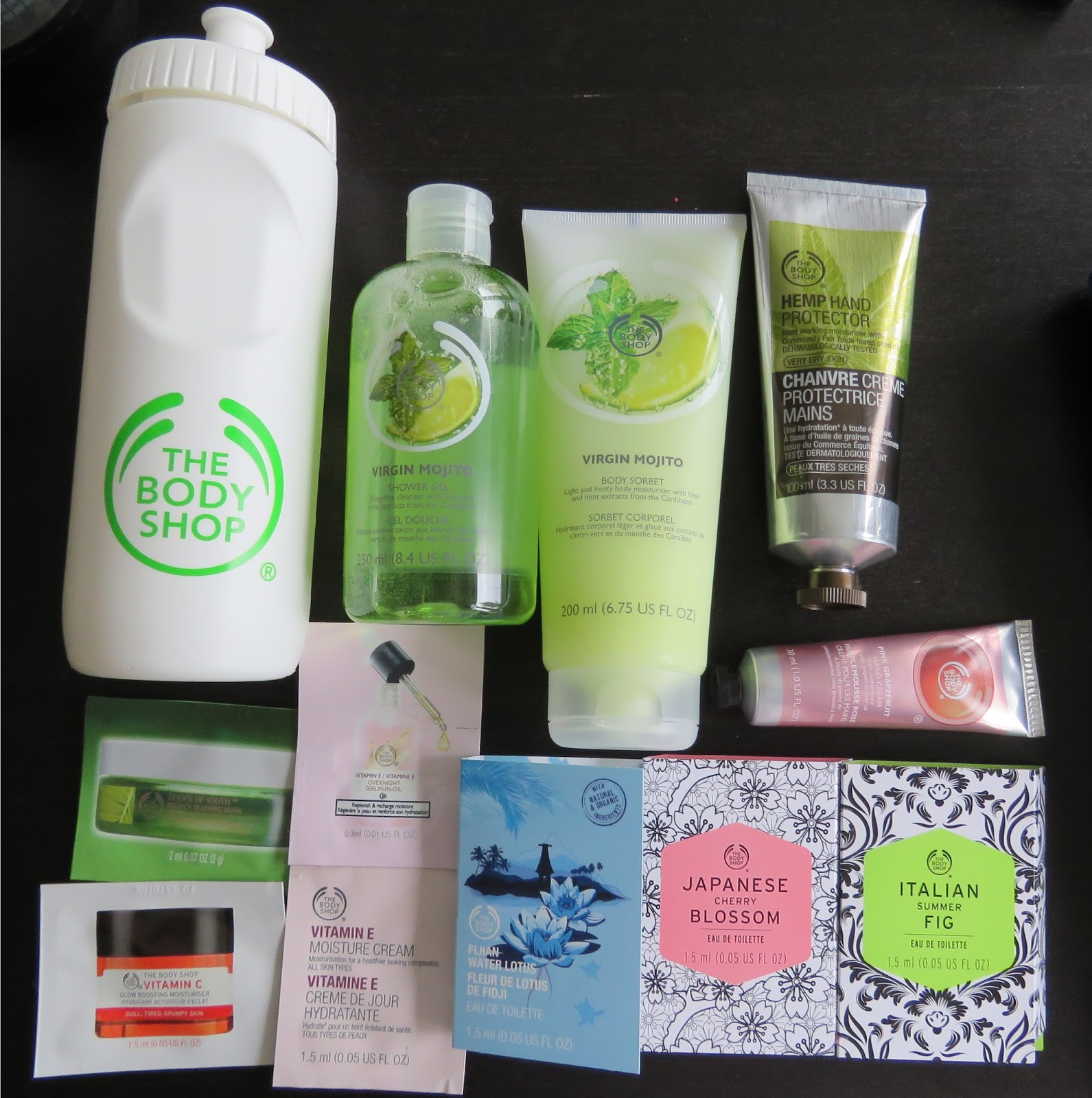 Nails and all that jazz: The Body Shop Haul