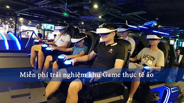 game thực tế ảo tại Flamingo