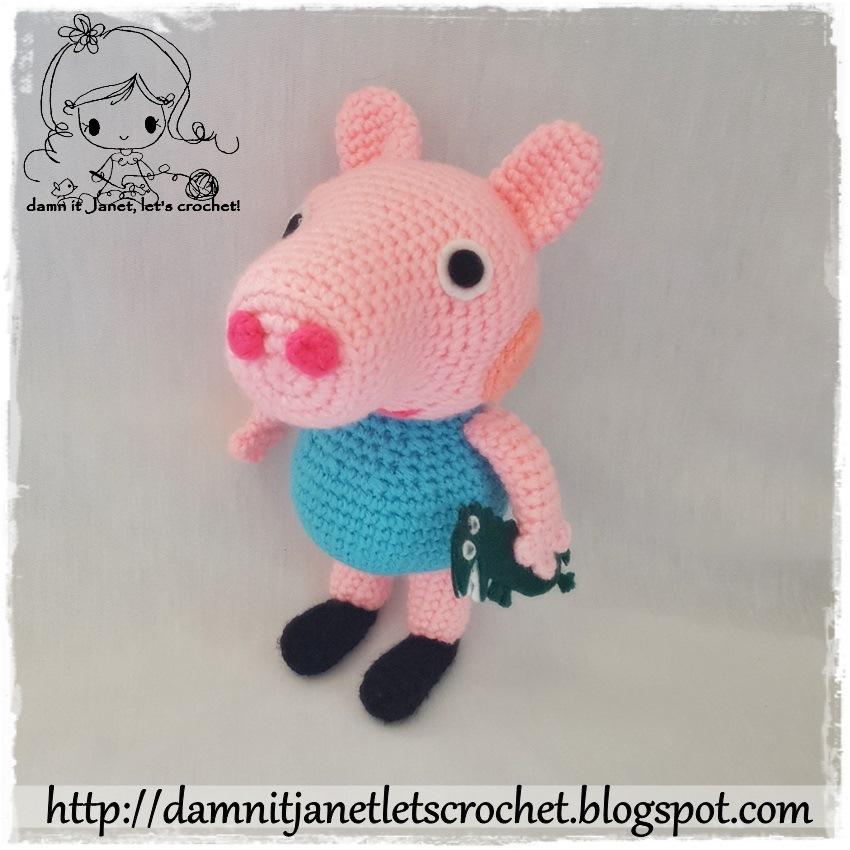 Mini pig free amigurumi pattern | Amigurumi Space | 850x850