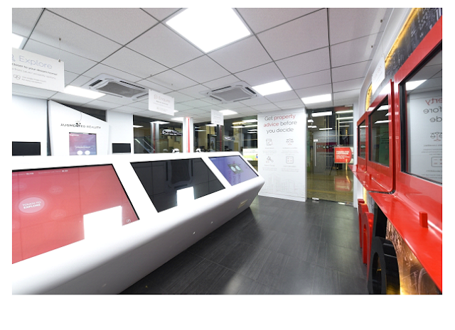 Image2: The above image is another view of the inside of the Experience Centre
