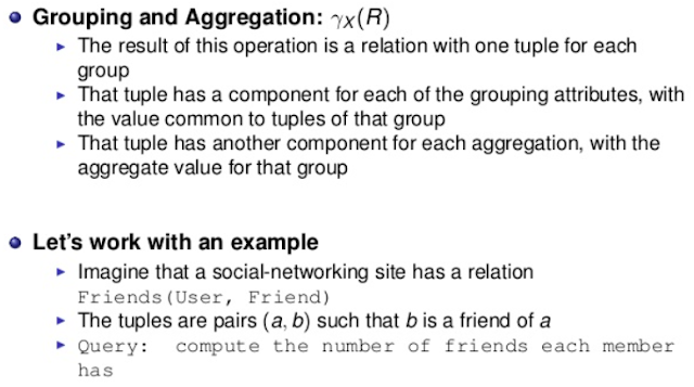 Grouping and Aggregation by MapReduce