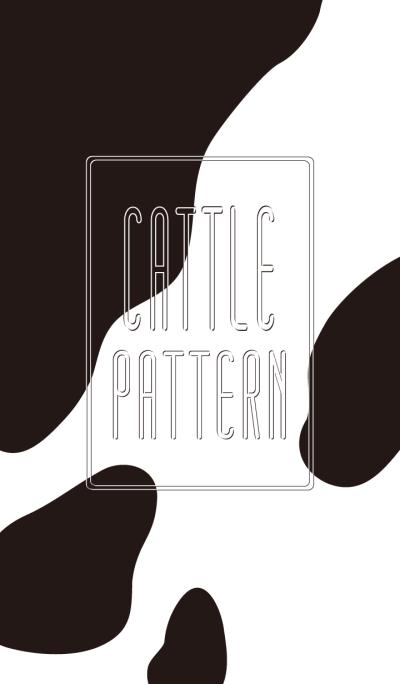 B&W Cattle pattern