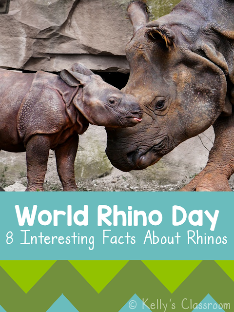 World Rhino Day by Kelly's Classroom Online