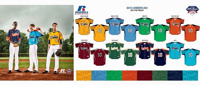 online store a3ed1 0a6dc Little League News: Russell Athletic and Little League ...