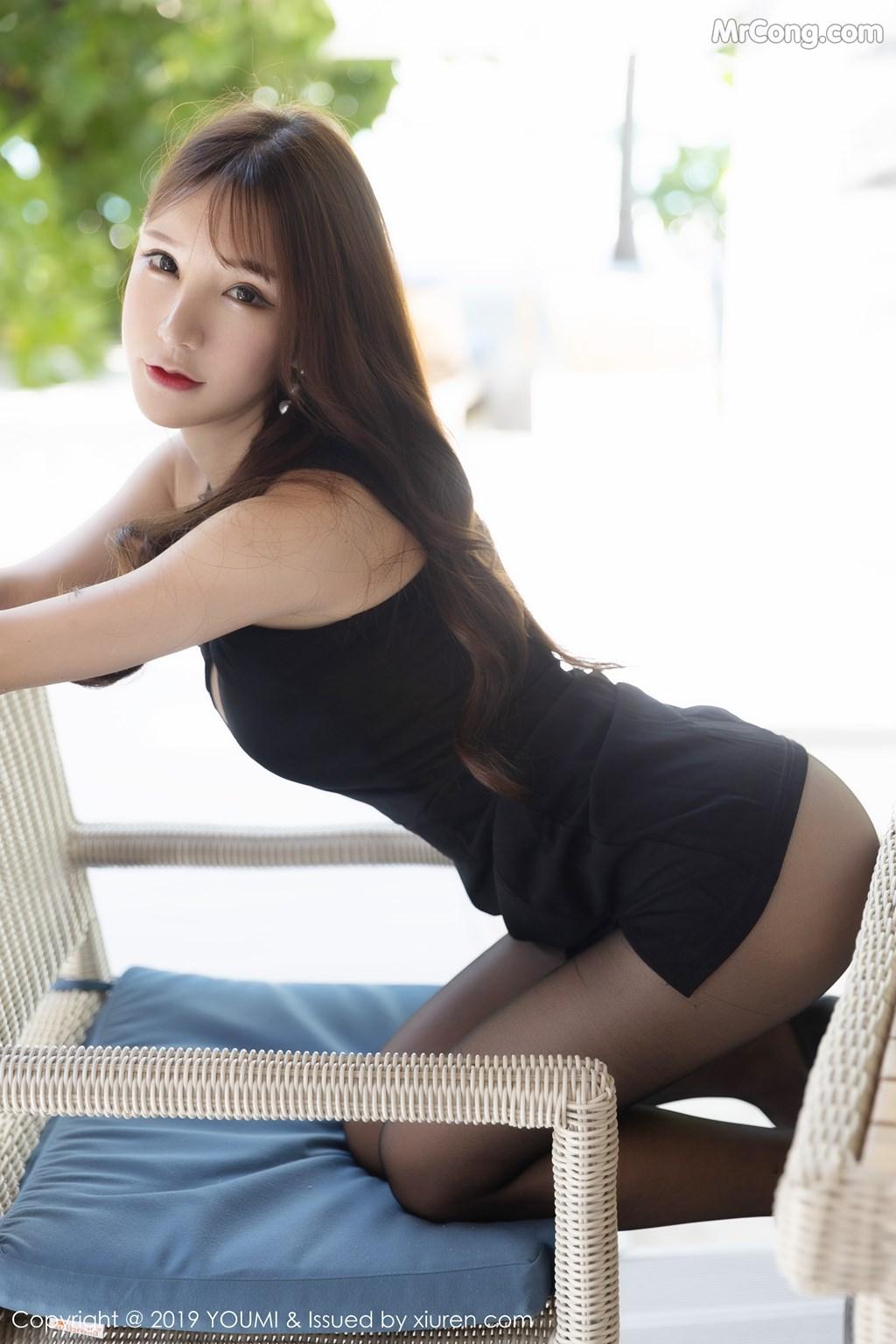 Image YouMi-Vol.389-Zhou-Yuxi-Sandy-MrCong.com-017 in post YouMi Vol.389: Zhou Yuxi (周于希Sandy) (53 ảnh)