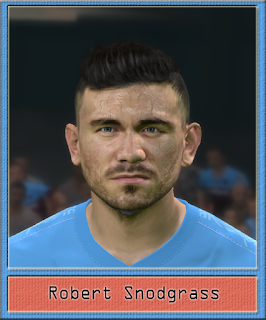 PES 2017 Faces Robert Snodgrass by Dewatupai