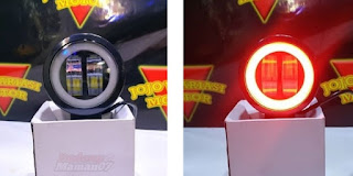 Model Lampu LED Day Maker Mini Circle