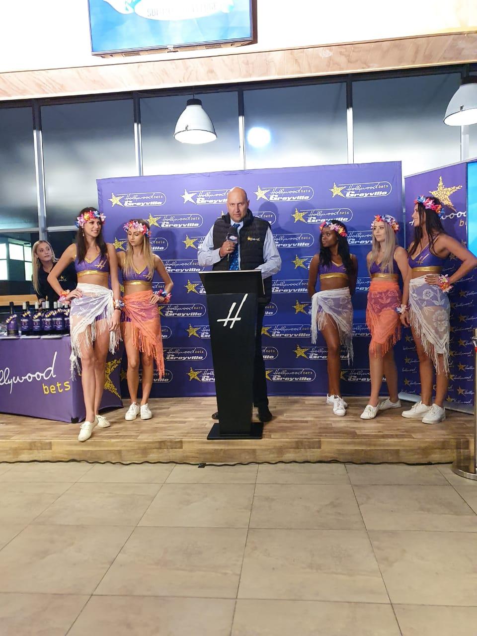 Warren Lenferna at the Hollywoodbets Sizzling Summer Challenge Handover