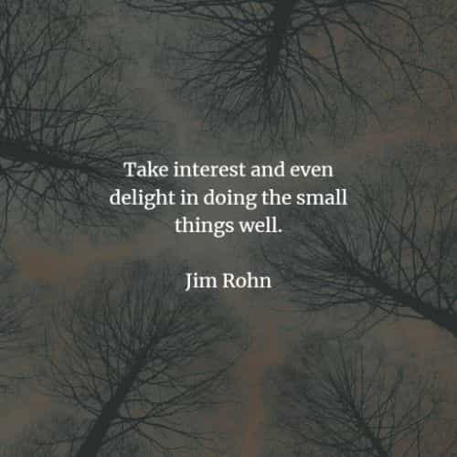 Famous quotes and sayings by Jim Rohn