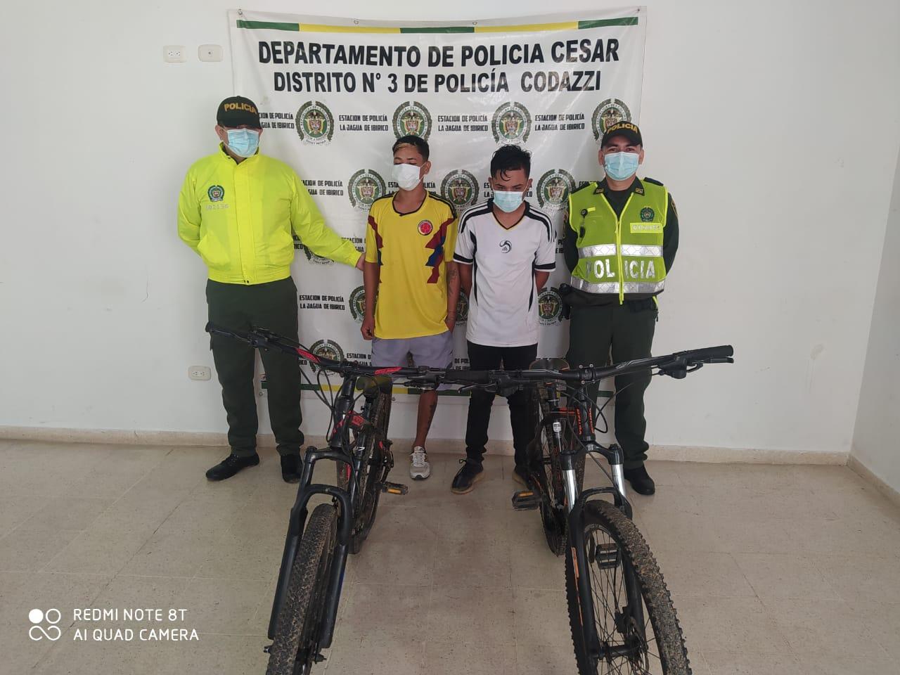 hoyennoticia.com, Capturados por robar bicicletas en medio de la protesta