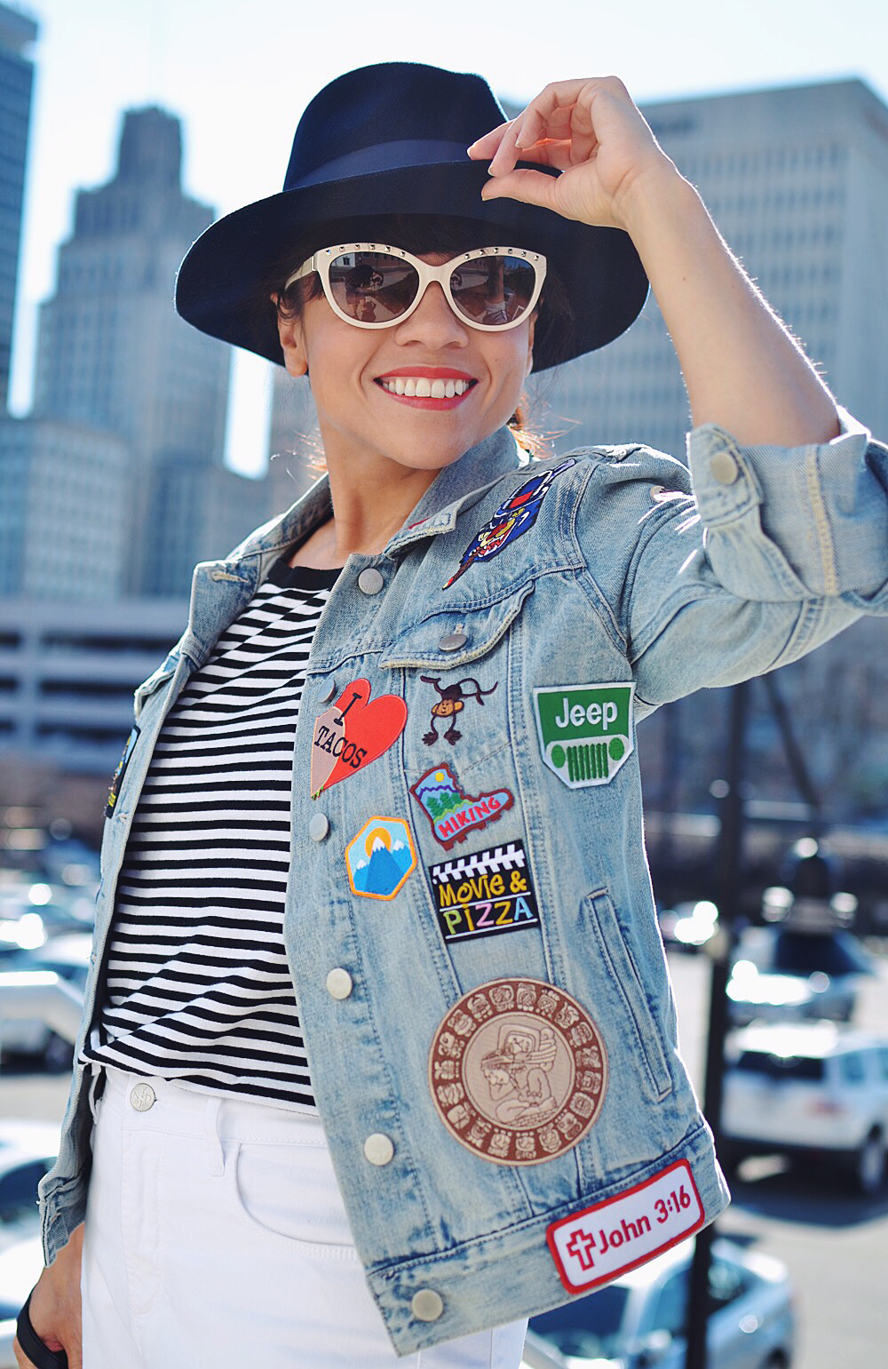 Patches trend street style