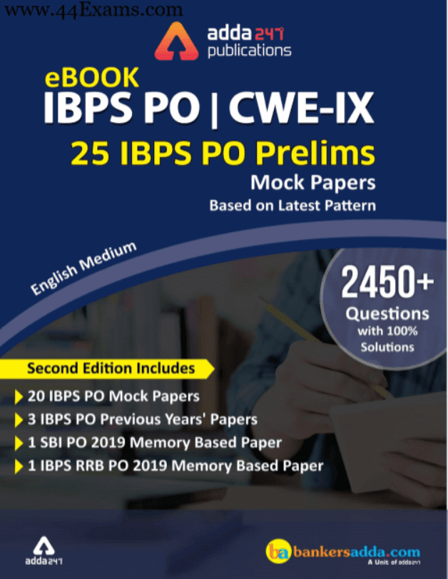 IBPS-PO-Prelims-Mock-Papers-2019-Based-on-Latest-Pattern-For-Banking-Exam-PDF-Book