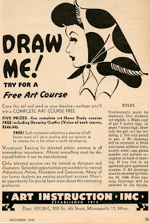 how to draw advertisement