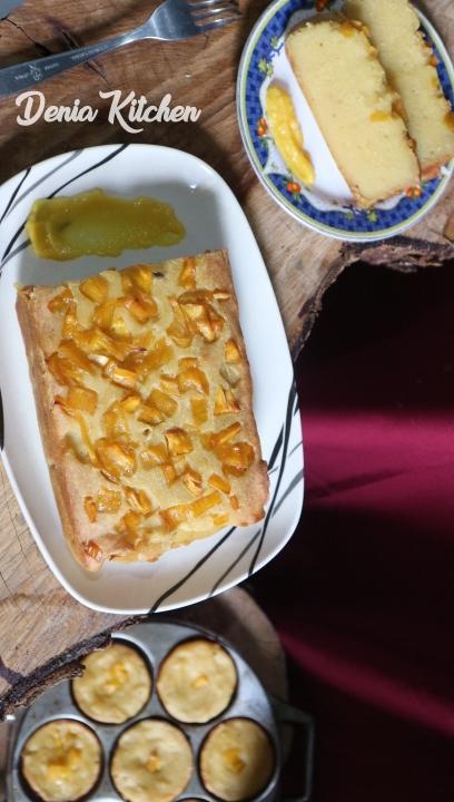 Resep Bingka Nangka Jackfruit Tradisional Cake Bingka Denia Kitchen