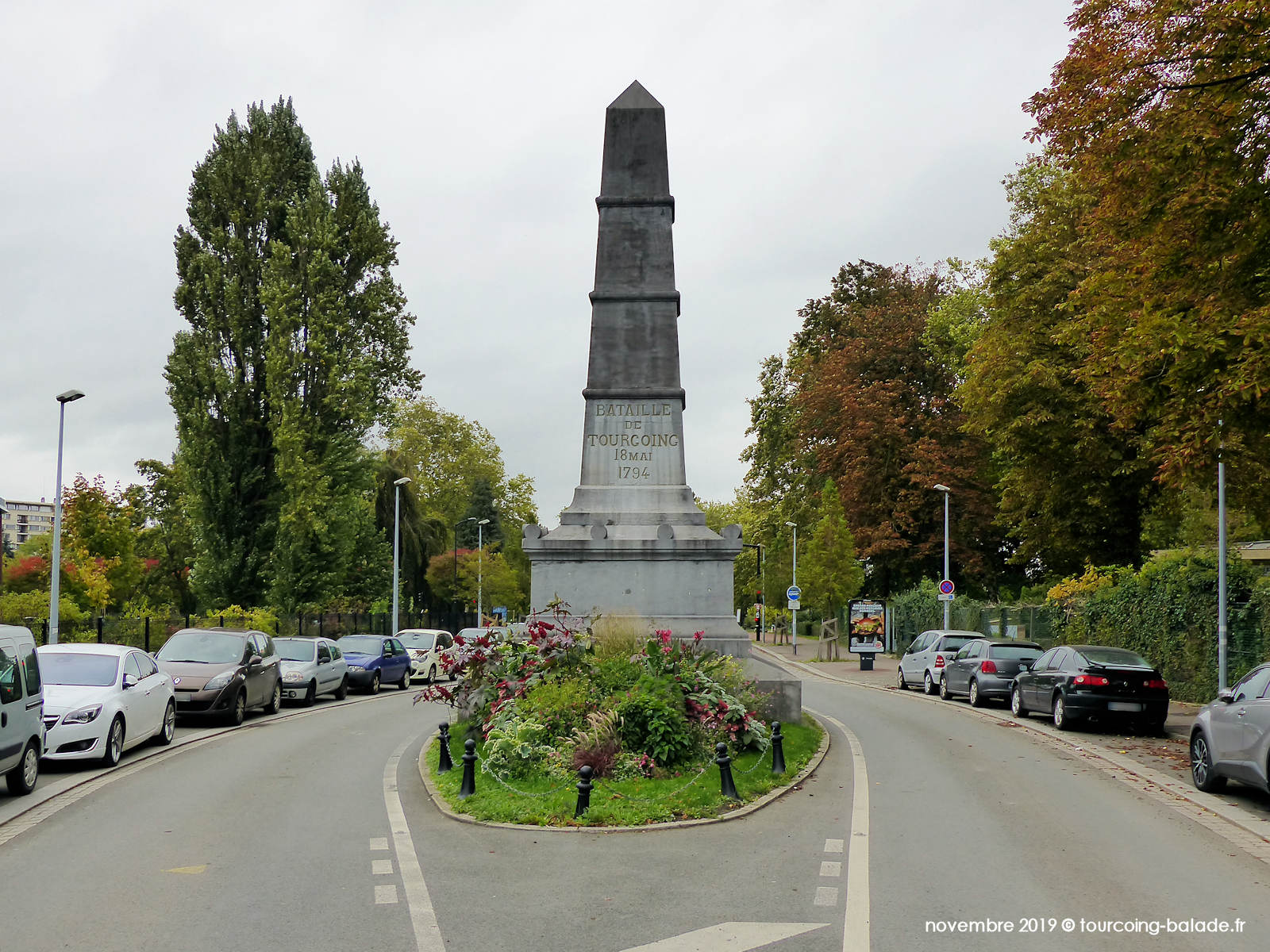 Monument Bataille Tourcoing 1794, 2019