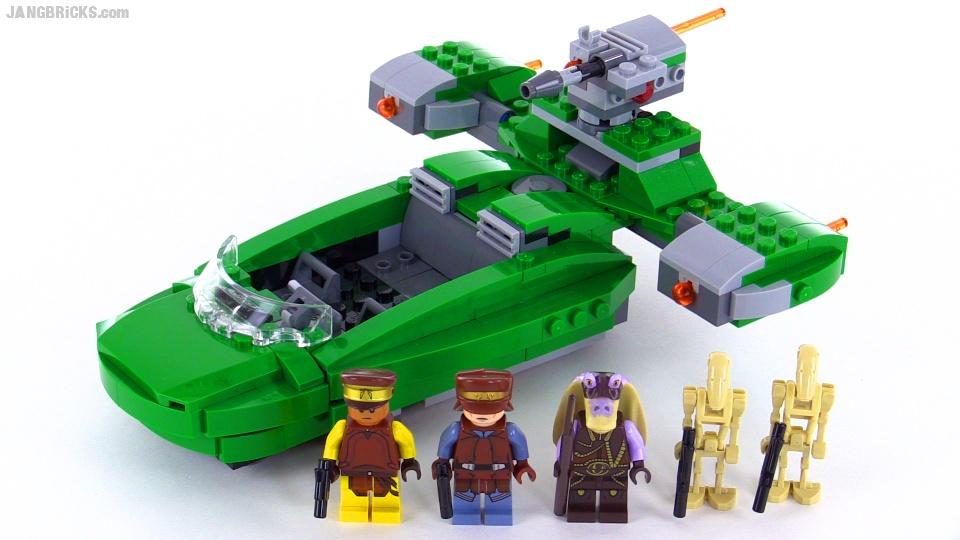JANGBRiCKS LEGO reviews & MOCs: LEGO Star Wars 2015 Naboo
