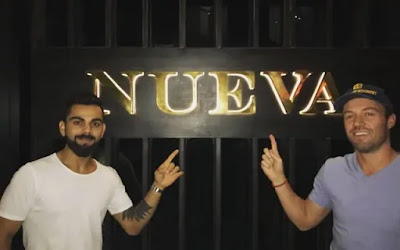 Virat Kohli Nueva Restaurant Delhi