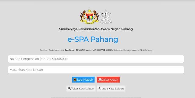 Permohonan Jawatan Kosong SPA Pahang 2021 Online