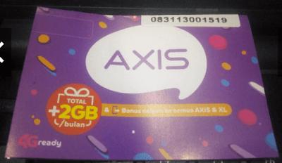 Cara Cek Nomor Axis