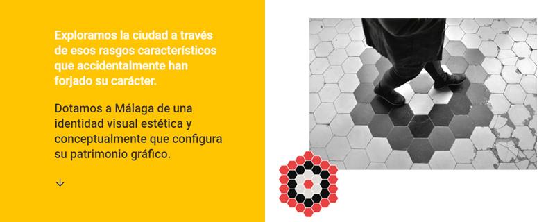 Málaga Patterns; identidad visual malagueña