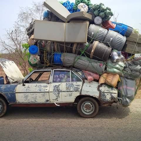 Another Crazy Overloaded Vehicle Apprehended By Frsc