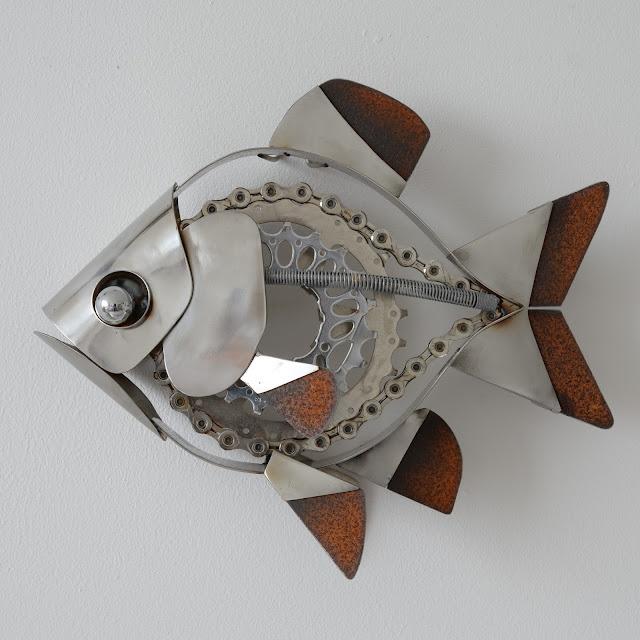 Ed Hill Metal Art - Fish