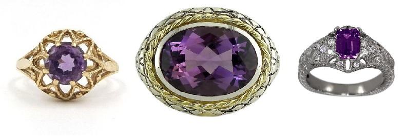 contoh desain perhiasan kecubung