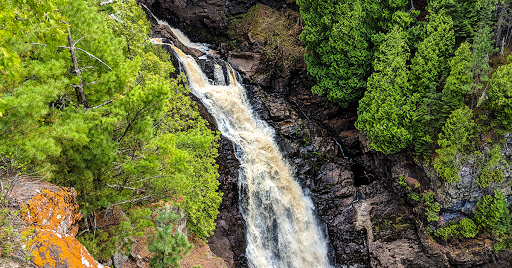 Big Manitou Falls at Pattison State Park