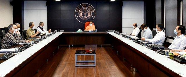 मुख्यमंत्री योगी ने कोविड-19 के संक्रमण की चेन को तोड़ने के लिए सभी प्रयास जारी रखने के निर्देश दिए