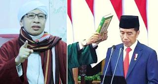 Buya Yahya Ingatkan Jokowi: Jangan Jadi Presiden Ditipu Orang di Kiri-Kanan