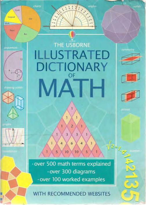 Illustrated Dictionary Of Math PDF Book