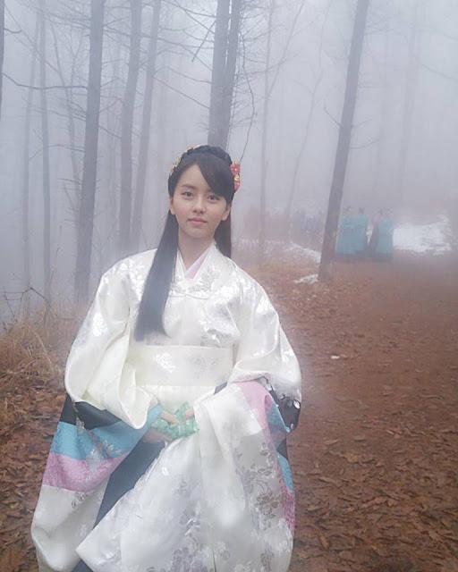 《鬼怪》最美王妃 金所炫公開拍攝花絮