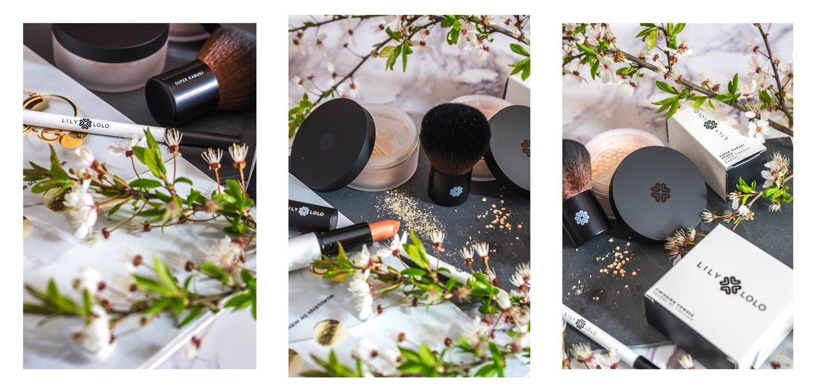 6a jak nakładać kosmetyki mineralne lily lolo opinia recenzja jak stosować puder matujący pędzel super kabuki cena blog szminka naturalne kosmetyki dla wegan puder mineralny podkład kredka do oczu szminka