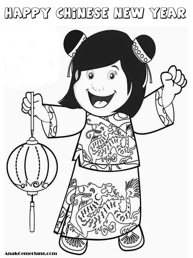 Gambar Perayaan Tahun Baru Cina Kartun