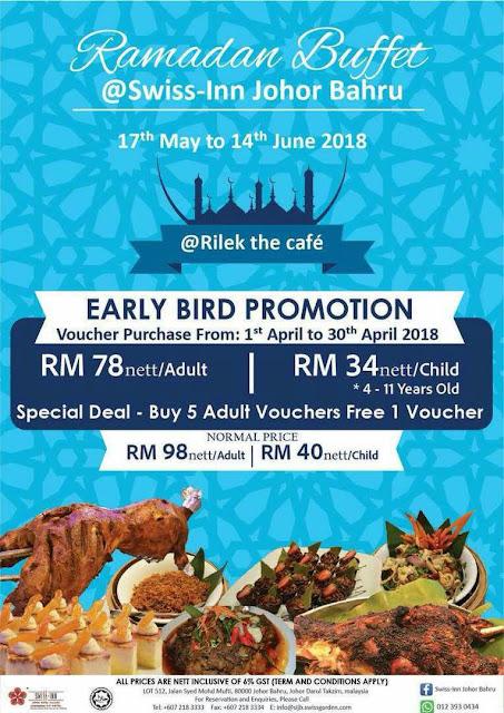 buffet ramadhan swiss in Johor Bahru