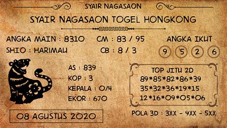 Nagasaon HK Sabtu 08 Agustus 2020