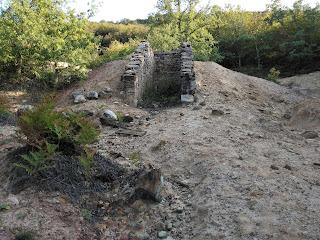 Escombrera, Mina de cobre Dos Amigos, Huidobro, Burgos
