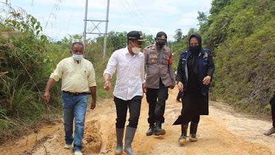 Anggota DPR-RI Rezka Oktoberia Terjun ke Pelosok Limapuluh Kota Galugua, Siap Kawal Pembangunan Infrastrukturnya