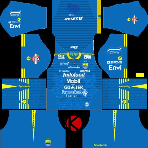 persib bandung 2019 kit dream league soccer kits kuchalana persib bandung 2019 kit dream league